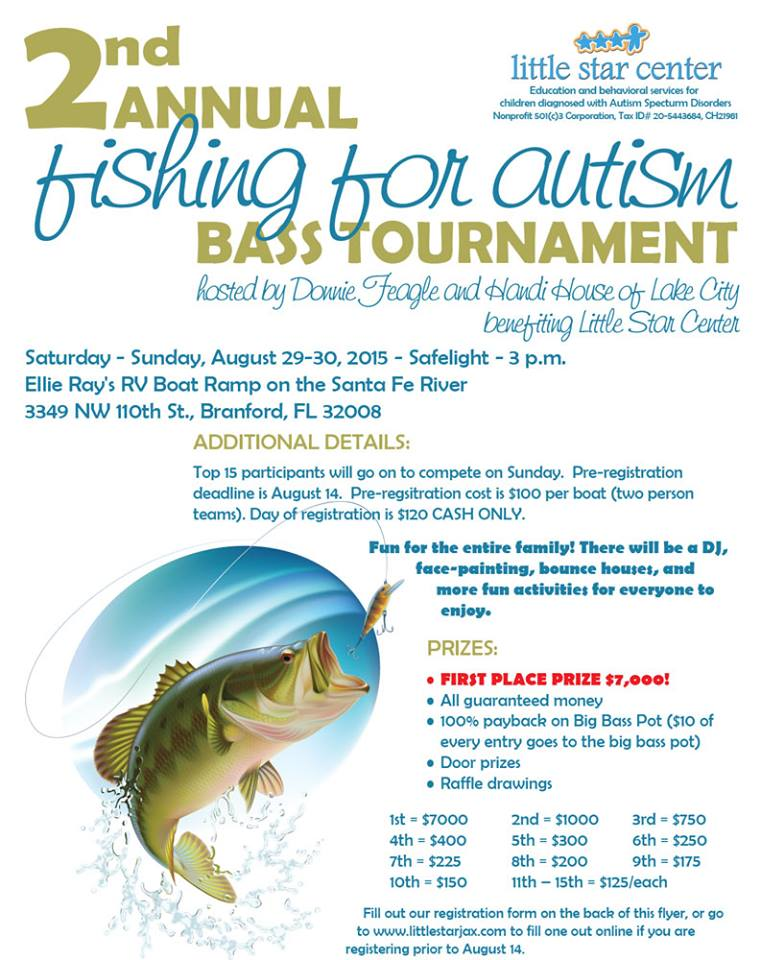 August2 2015 for Bass fishing tournaments in florida