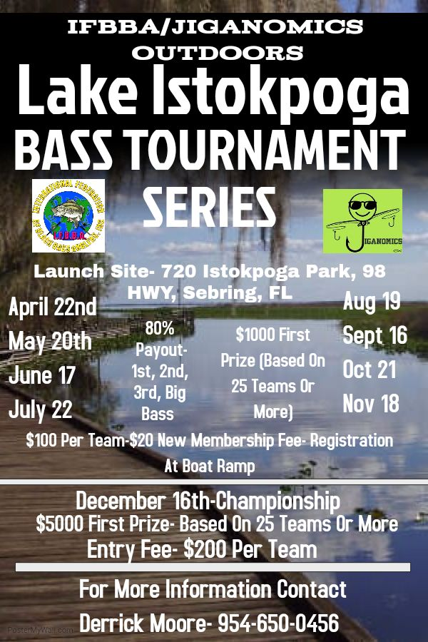 November 2017 for Bass fishing tournaments in florida